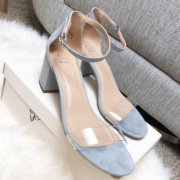 4f4bb394a a new day Shoes - A New Day- from Target- light blue heel